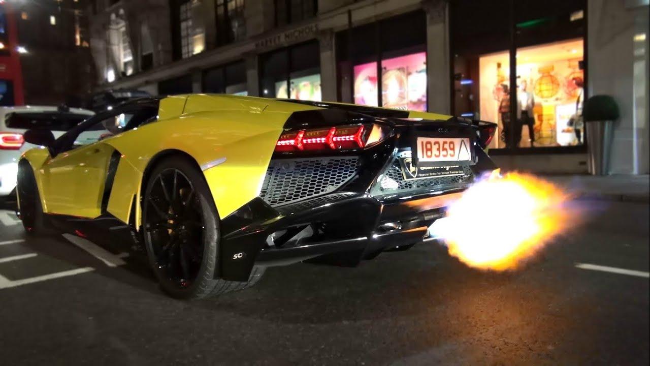 Lamborghini launch control