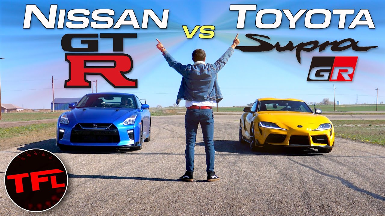 Download Supra vs. GT-R: Which Of These Two JDM Legends Is Today's QUICKEST Sports Car?
