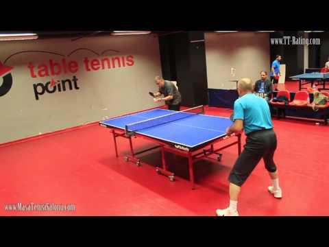 Masa Tenisi Turnuvası Maçı - 79.TT-Rating Turnuvası Y.Final Maçı