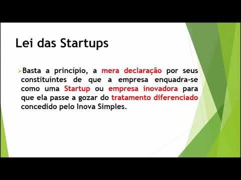 Lei das startups (Lei Complementar 167/2019)