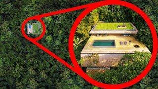 5 Abitazioni Segrete nascoste nei posti più impensabili al mondo!