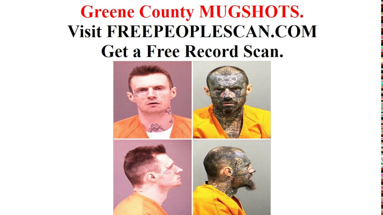Greene County Mugshots