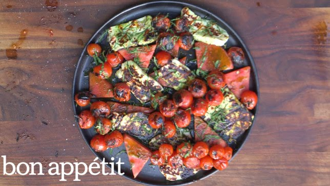 Grilled Halloumi With Watermelon | BA Summer Grilling Manual