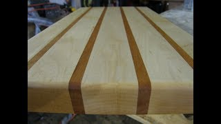 Professional Grade Cutting Boards - Vermont Hard Maple and Cherry