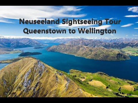 X-Plane11  | Neuseeland Tour Part 1.-  Queenstown to Wellington  [GER/ENG]
