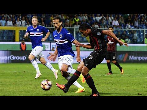 Sampdoria 0-1 AC Milan | Goal: Carlos Bacca | REVIEW