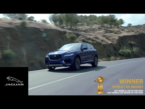 Jaguar | F-PACE Wins World Car and World Car Design Of The Year