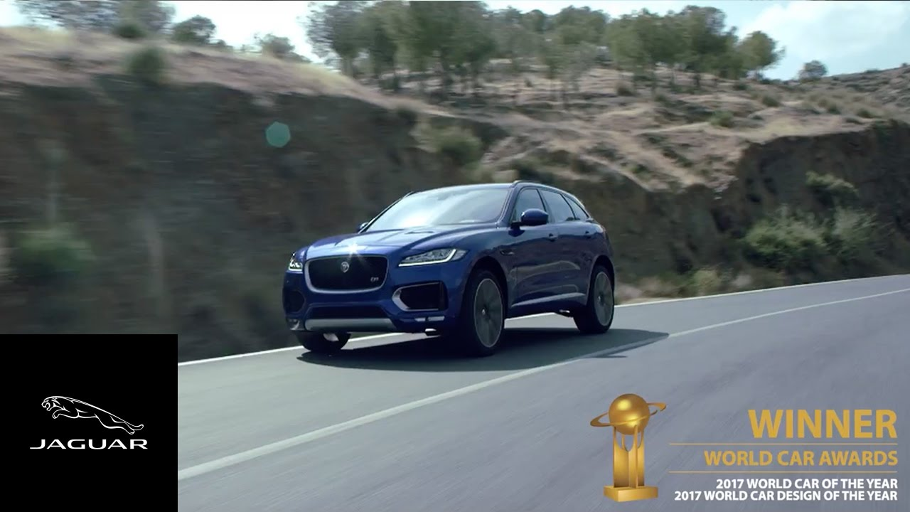 Jaguar | F PACE Wins World Car And World Car Design Of The Year