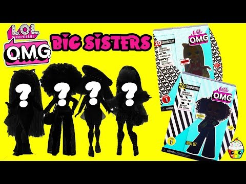 LOL Surprise OMG Fashion Dolls Mystery Box Who Gets A Big Sister???
