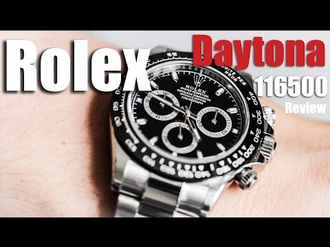 Rolex Daytona Steel Review 116500