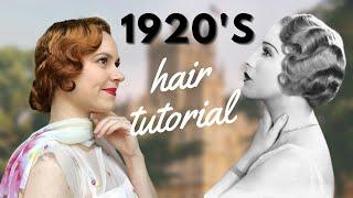 1920's Hair Tutorial | Finger Waves