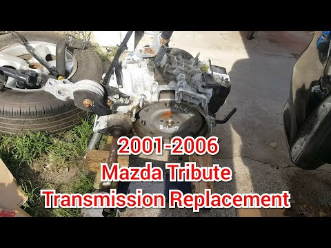 How To Replace A Mazda Tribute Transmission 2001-2006
