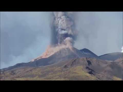 Dramatic Stratovolcano Etna Eruptions 2002-2016