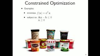 12. Constrained Optimization; Equality Constraints and Lagrange Multipliers