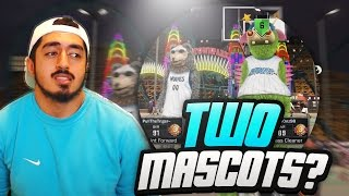 how fast can a shot creator beat two mascots in nba2k17