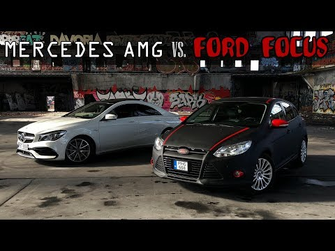 MERCEDES AMG VS. FORD FOCUS X