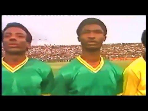 1985, LE ZAIRE A BATTU LE CONGOBRAZZA 5-2 ( MATCH COMPLET)