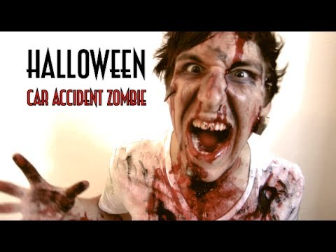 Car accident zombie halloween do it yourself costume scary car accident zombie halloween do it yourself costume scary tutorial solutioingenieria Image collections