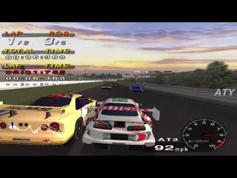 PCSX2 Driving Emotion Type-S Suzuka Circuit JGTC Castrol Supra GAMEPLAY