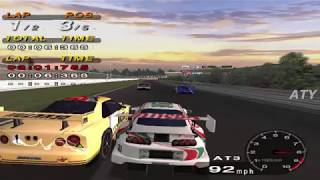 PCSX2 Driving Emotion Type-S Suzuka Circuit JGTC Castrol Supra GAMEPLAY