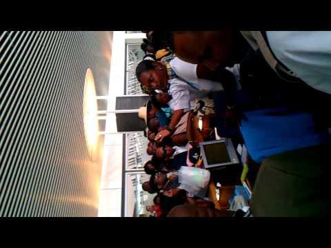 l'accueil de air caraibes en guadeloupe avec les haitienne