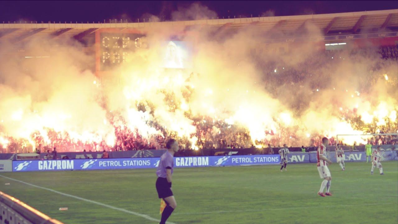 Most Explosive Derby Ever Red Star V Partizan