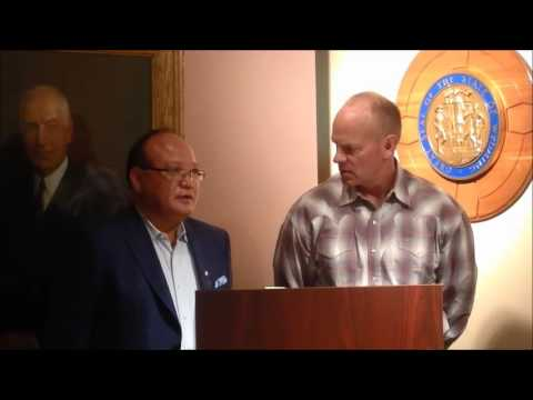 Wyoming Governor Matt Mead on Partnership with Japan Coal Energy Center