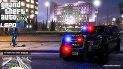 GTA 5 LSPDFR EPiSODE 93 - LET'S BE COPS - CITY PATROL (GTA 5 PC POLICE MODS) UNMARKED SUBURBAN