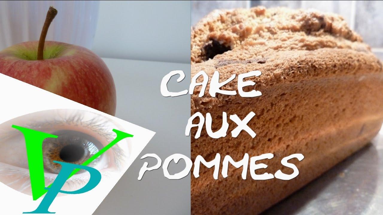 Recette du cake aux pommes et Cognac