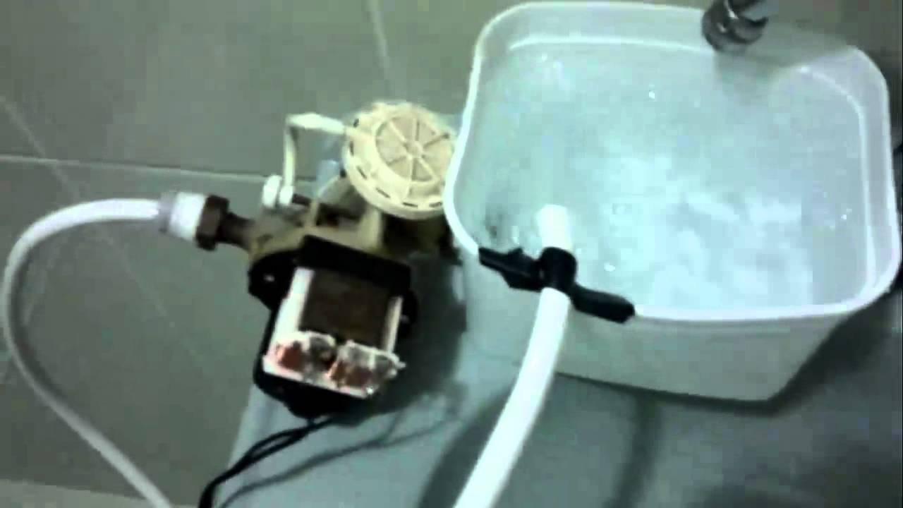 Bomba de gua meio caseira youtube for Bombas de agua para estanques de jardin