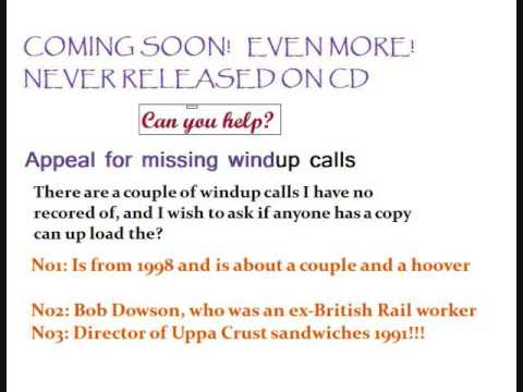 Real radio Wind up: Classic Galloway call No41: