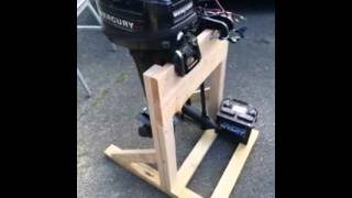 $20.00 Outboard Motor Stand
