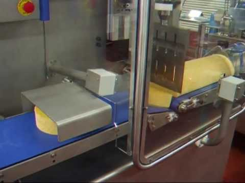 newtech - continuous ultrasonic cutting of extruded cheese