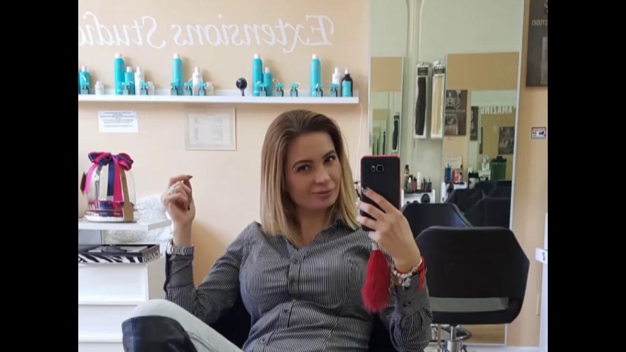 Tetyana Bornstein At Mon Plaisir Hair Extensions Studio Tutorial