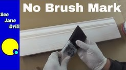 The Secret to Getting a Perfect Paint Finish with no Brush Marks