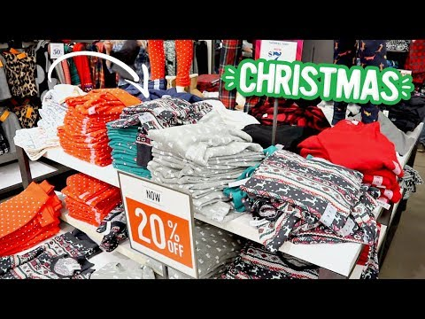 Shopping For Matching Christmas Pajamas! Vlogmas Day 13
