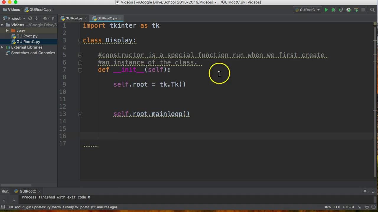 Tkinter python 3 tutorial