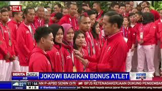 Presiden Bagikan Bonus untuk Para Atlet dan Pelatih Asian Games 2018