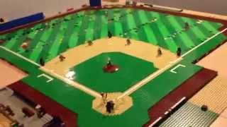 LEGO BASEBALL STADIUM MOC UPDATE # 8 !!!