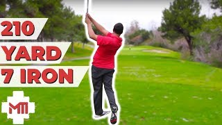 Golf Course Vlog 210 yard 7 iron! - Victor Rodriguez part 2