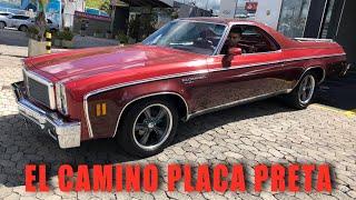 CHEVROLET EL CAMINO, MEU PRIMEIRO PLACA PRETA - CVBR #458