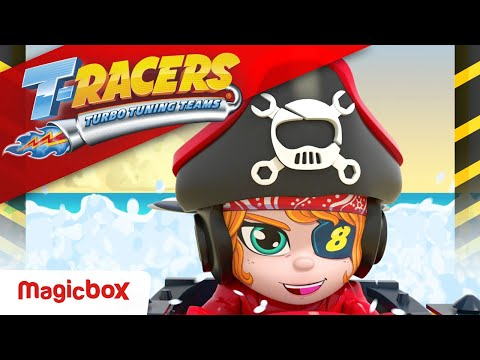 Download T-RACERS | EPISODE: The pirate of the races 🏴☠️ | Cartoons SERIES for Kids