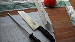 Victorinox 7.8013 sharpening / honing steel - part 2