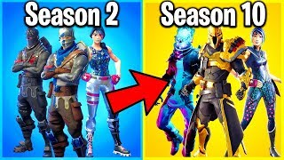 RANKING ALL 10 SEASONS OF FORTNITE FROM WORST TO BEST!