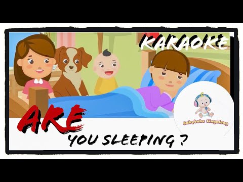 Are You Sleeping Song (Karaoke Version) - Nursery Rhymes for Children, Kids and Toddlers