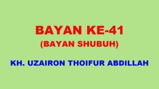 041 Bayan KH Uzairon TA Download Video Youtube|mp3