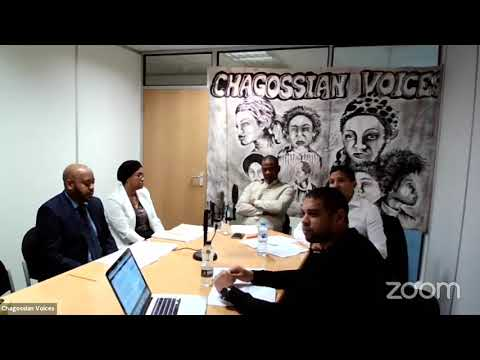 Chagossian Voices Conference: Watch in full