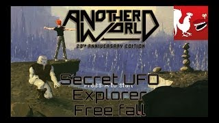 Another World: 20th Anniversary Edition - Secret UFO, Explorer, & Free Fall Guides | Rooster Teeth