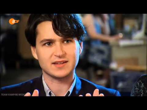 Vampire Weekend interview with ZDF