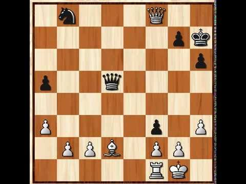 A checkmate worth watching: Online chess game - YouTube